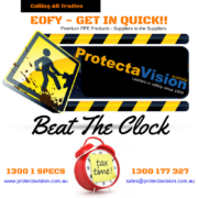 EOFY, Protecta-Vision, PPE